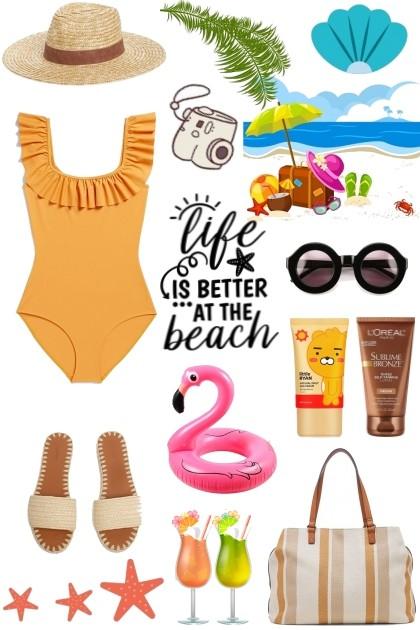 Beach Look #2- Fashion set