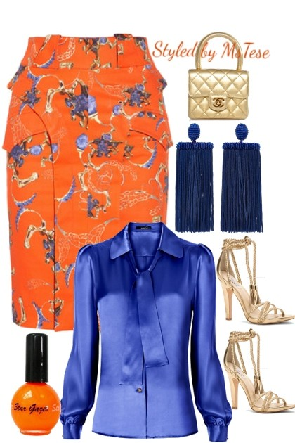 It's a Tangerine Fab Day- Fashion set