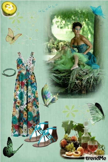 Butterflies, butterflies- Fashion set