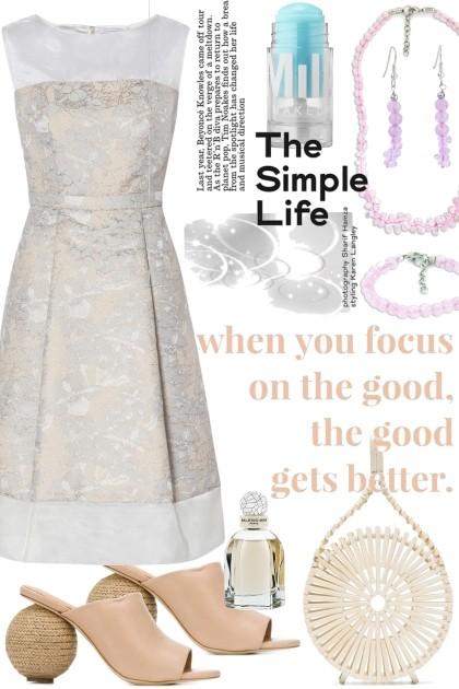 the simple life- Modna kombinacija