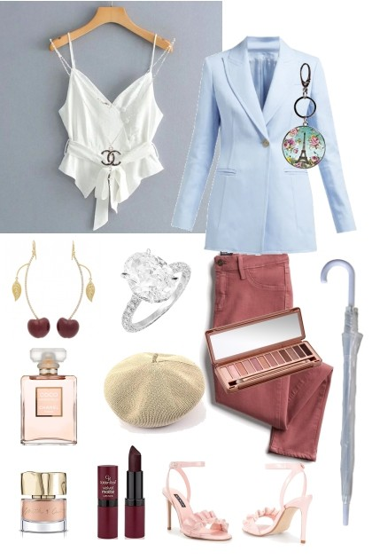 Elegance and Pastels- Fashion set