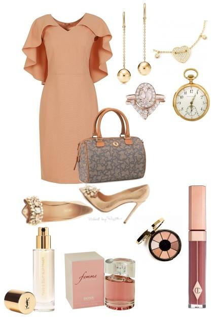 Retrospective Rose- combinação de moda