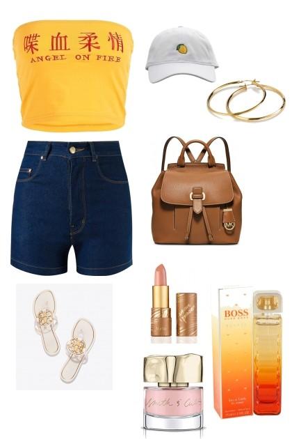 Summer Freshness- Fashion set