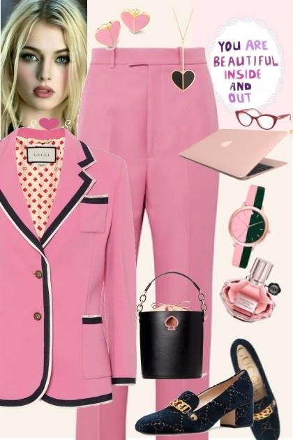 Pink- Fashion set