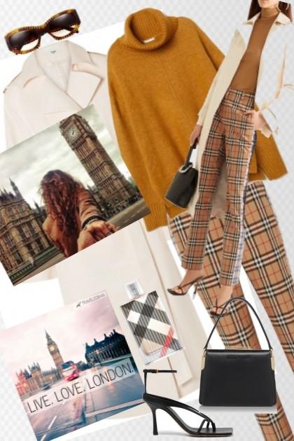 A day in London- Combinazione di moda