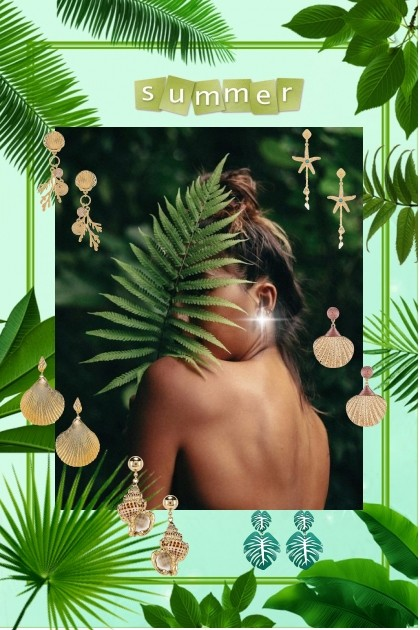 Summer jewelry- Fashion set