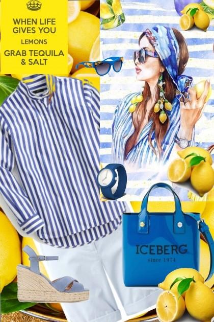 When life gives you lemons- Fashion set