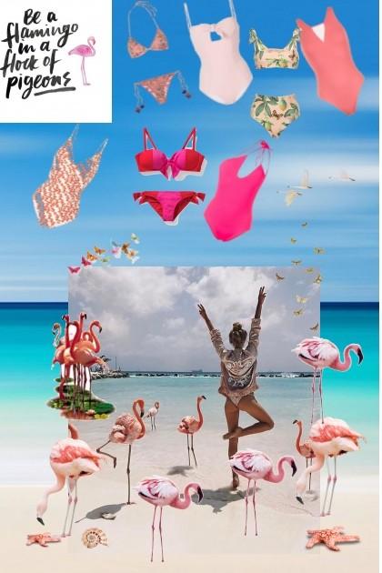 Be a flamingo- Fashion set