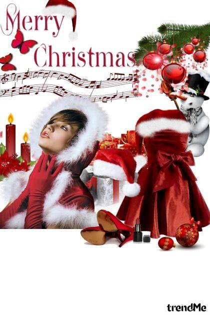 Merry Christmas- Fashion set