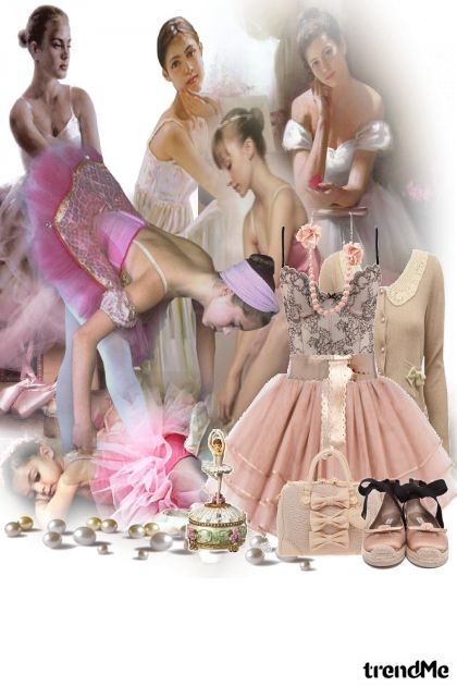 like a balerina- Fashion set