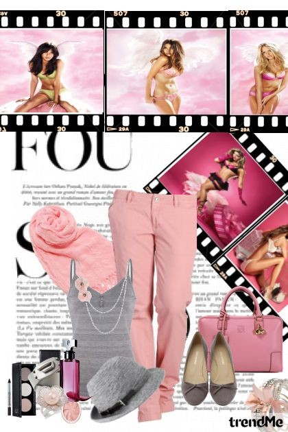 pink me up- Fashion set