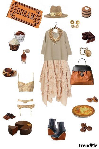 Chocolat- Modekombination