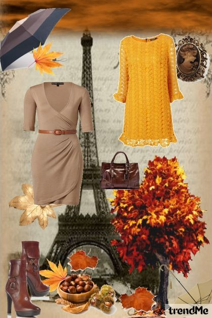 jesen u Parizu- Fashion set