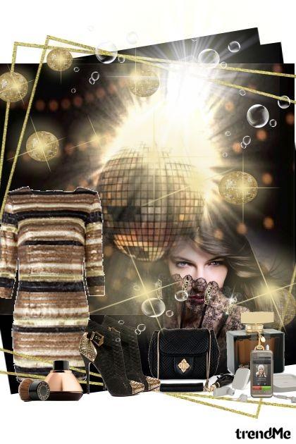 golden night - Fashion set