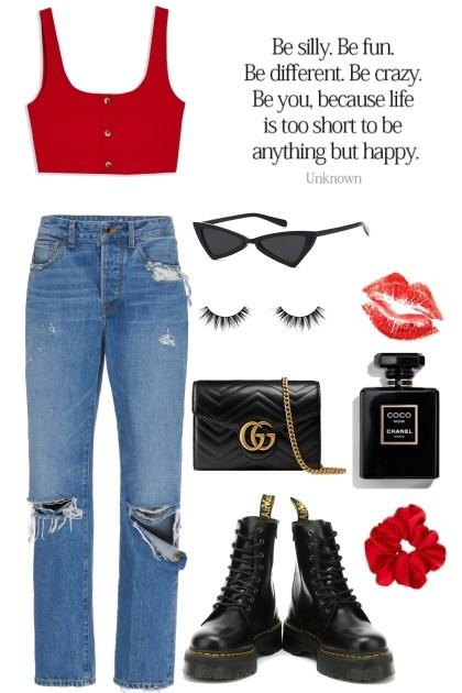 Ruby Red & Noir