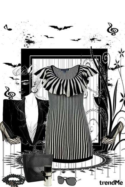 crno-bijelo- Fashion set