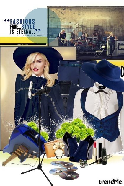 Gwen Stefani- Модное сочетание