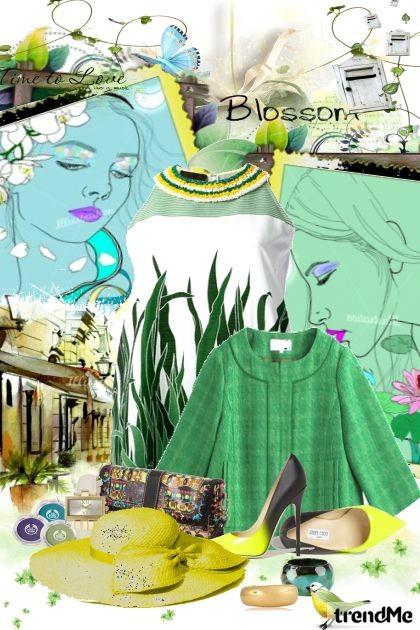 U zeleno i žuto me ogrni- Fashion set