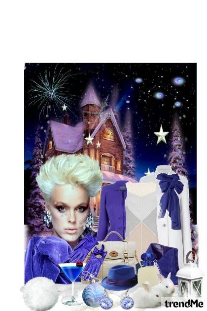 Dugo u noć...u zimsku bijelu noć...- Fashion set