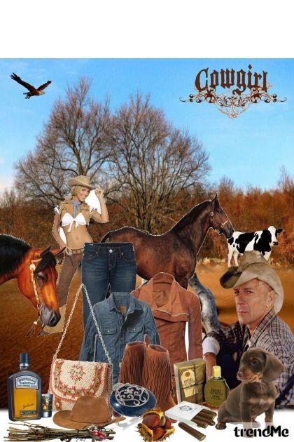 Cowgirl- Fashion set