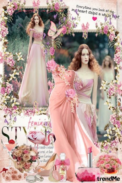 Style Feminine Romantic Pinky Women Collection Maca1974