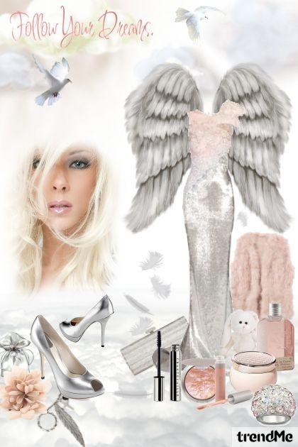 silver angel- Fashion set