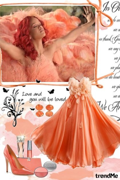 love and you will be loved- Fashion set