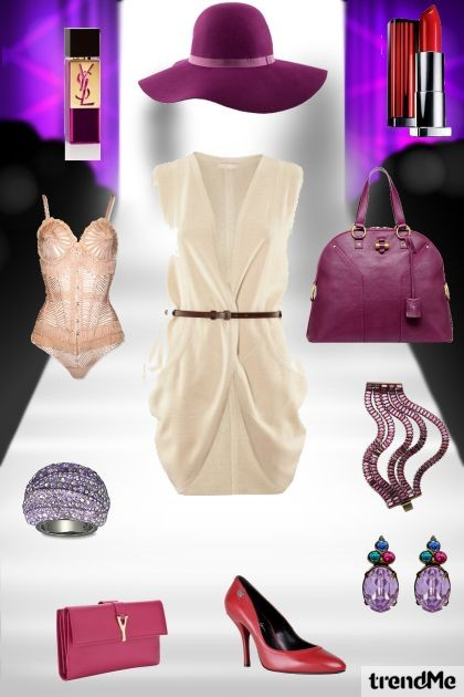Violet elegance- Fashion set