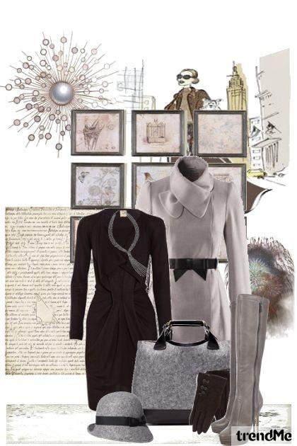 nije sve tako sivo- Fashion set
