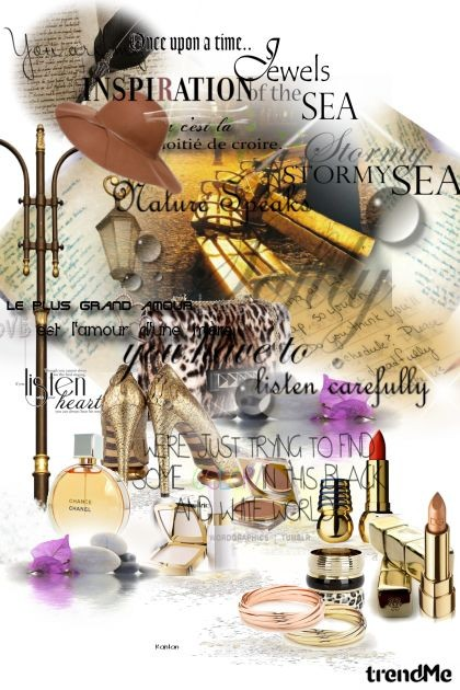 golden words...- Fashion set