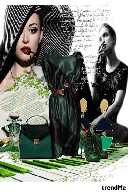 zelena elegancija...- Fashion set