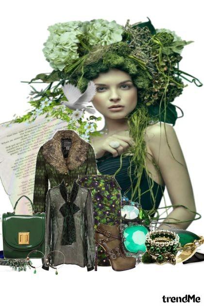zeleno....- Fashion set