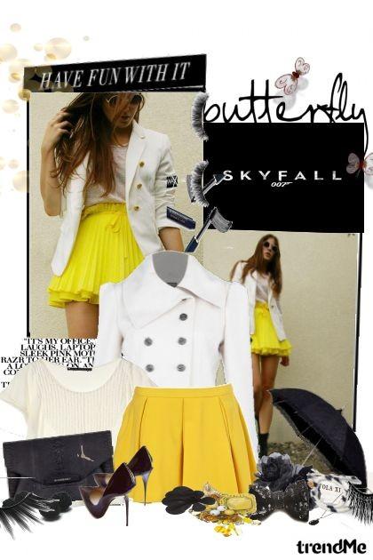 butterfly...- combinação de moda