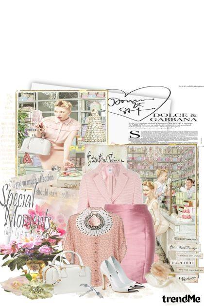 ružičasta promocija...- Модное сочетание