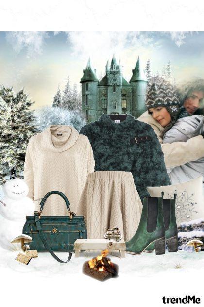 kad sam pored tebe,ne osecam zimu- Combinaciónde moda