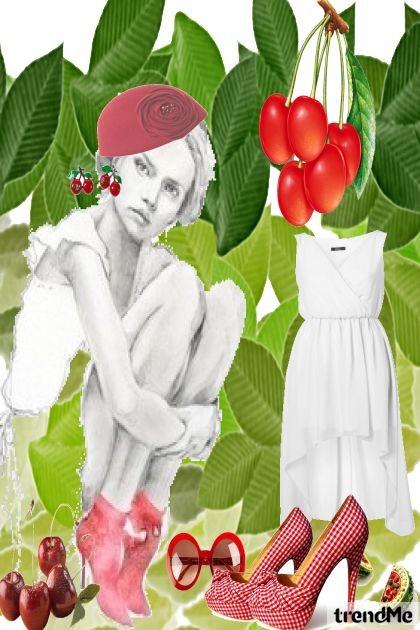 slatke trešnje- Fashion set