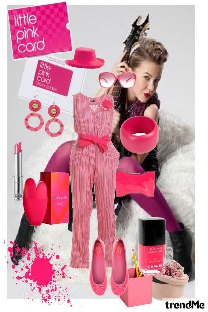 my pink world- Fashion set