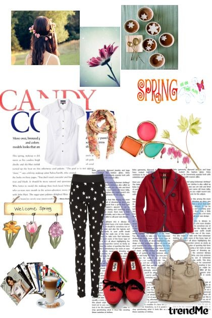Welcome spring!- Fashion set