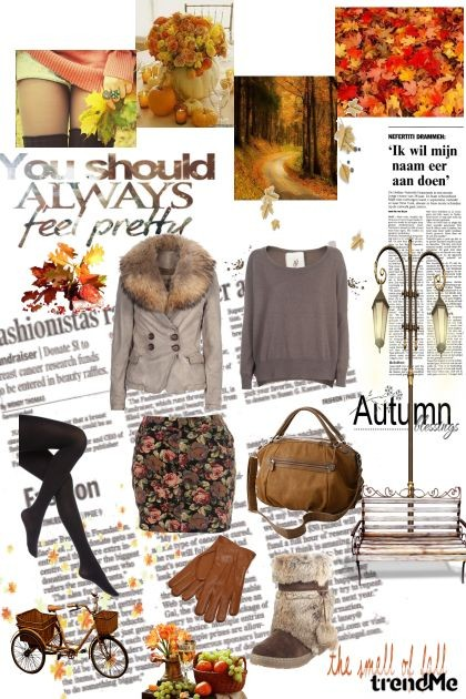 Autumn is a special time.- Fashion set