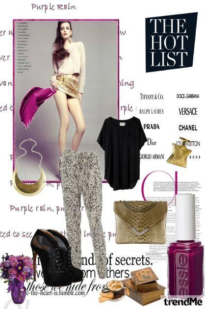 The hot list- Fashion set