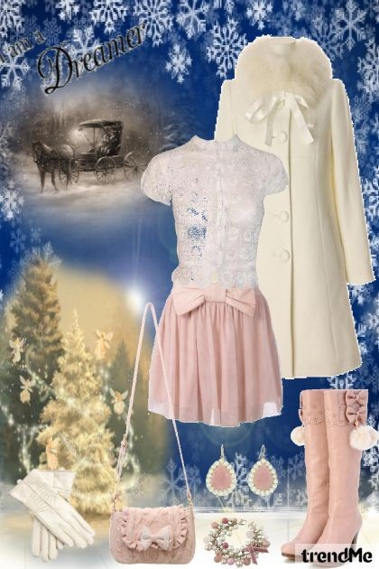 Pink Winter- Fashion set