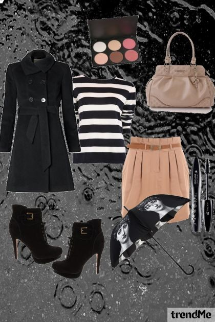 Rainy days- Fashion set