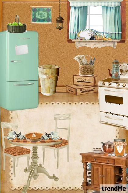 Grandma's Kitchen- combinação de moda