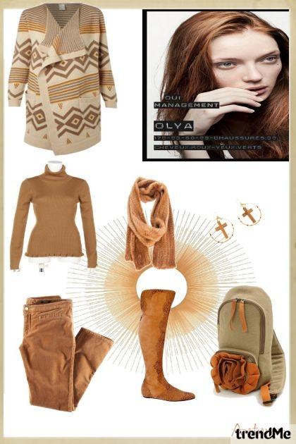 Autumn- combinação de moda