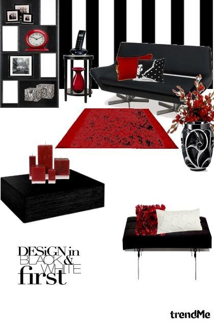 Black and White Room- Fashion set