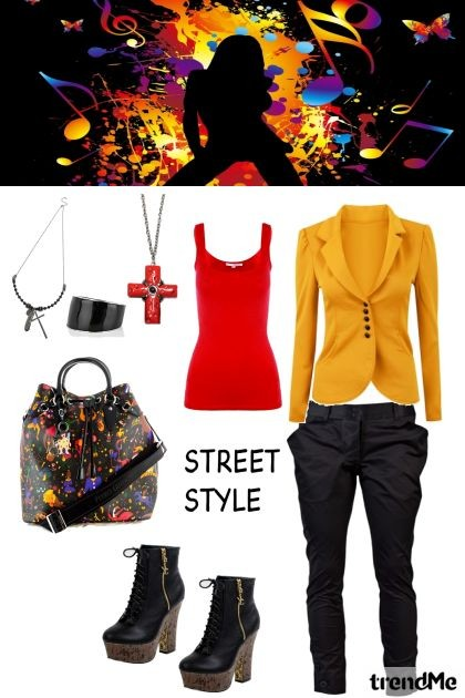 Saturday Street Style- Kreacja