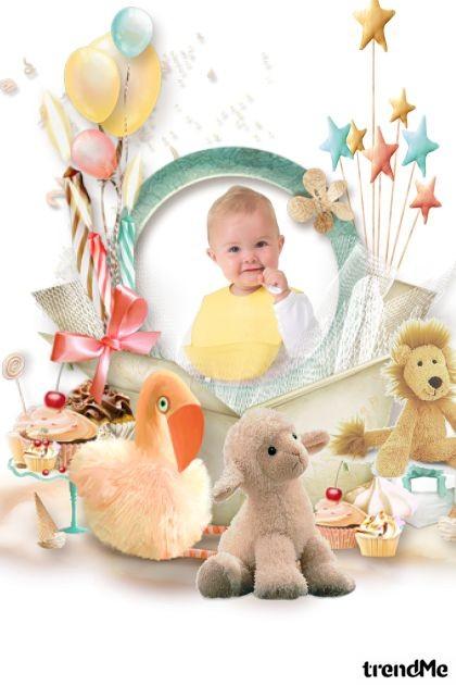 Cutest Baby Contest Entry- Modna kombinacija