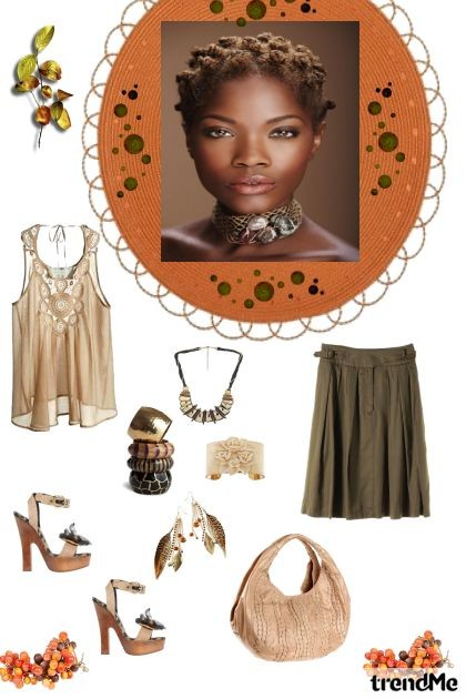 Earthy- Fashion set