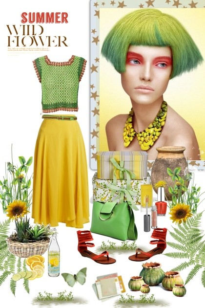 Summer Wild Flower- Fashion set