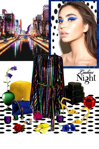 Night out- Combinazione di moda